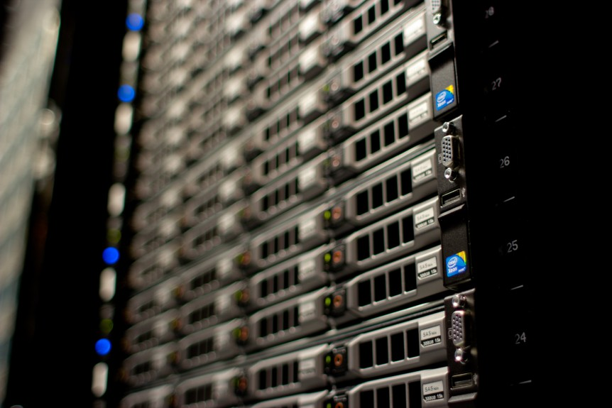 Servere i datacenter