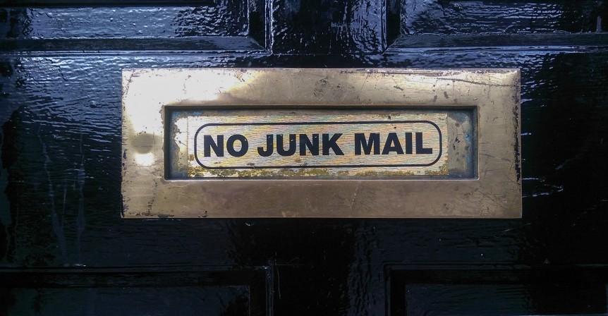 No spam - No junk